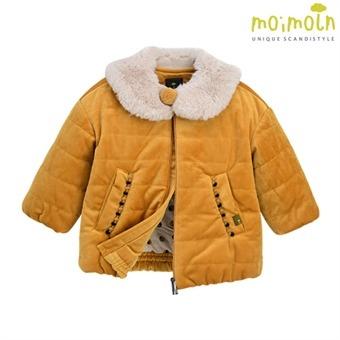 [모이몰른] 레아 벨벳점퍼(털카라탈부착) MOW1BAPM27 [겨울]