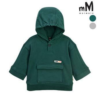 [모이몰른] 포켓후드 티셔츠 MOW1GQTS12 [겨울]