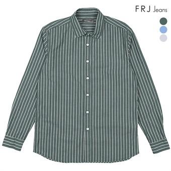 남성  오버핏 버튼 선염 세로 ST셔츠 (F91M-SH041A)