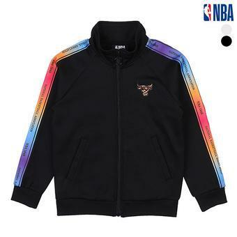 [NBA KIDS] 시카고불스 레인보우테이프 집업 (K191TJ111P)