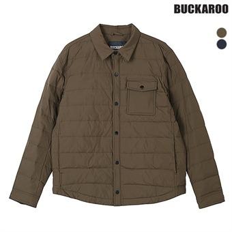 남성 나일론 40D 구스다운 셔츠형 자켓(B191JP450P)