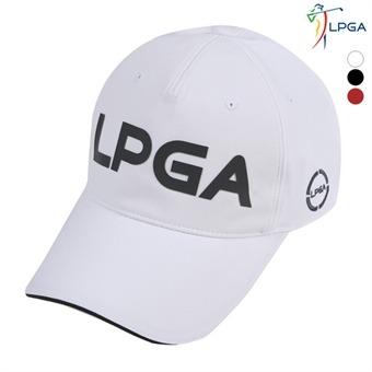남P 톤온톤 LPGA 로고 볼캡(L191AP101P)