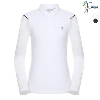 여P 냉감소매 제에리 티셔츠(L191TL512P)