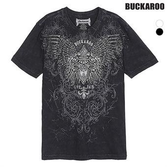 남성 30수 'WING' R넥 티셔츠(B192Z4392P)