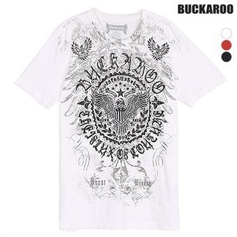 남성 30수 'ROUND WING' R넥 티셔츠(B192Z4393P)