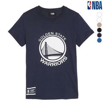 유니 NBA팀로고 기본티셔츠 (N192TS921P)