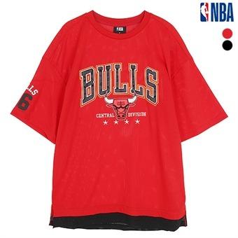 남성 시카고불스 메쉬 레이어드 티셔츠 (N192Z9351P)
