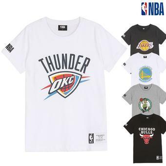 NBA 팀 로고 반팔 티셔츠(N192Z9010P)