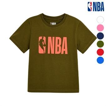 [NBA KIDS]  NBA 로고 티셔츠 (K192TS010P)