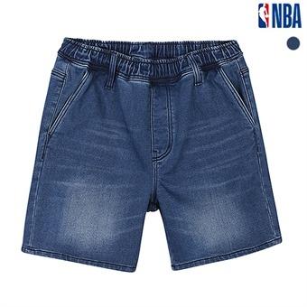 NBA 로고맨자수 밴딩워싱팬츠(N192DP351P)