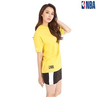 유니 NBA팀로고 미니 심볼 직자수 티셔츠(N192TS101P)