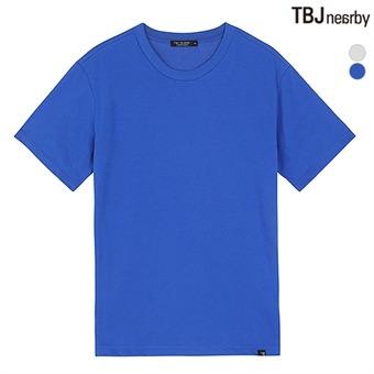 유니 라운드 무지 티셔츠(T192TS981P)