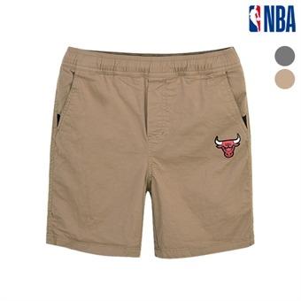[NBA KIDS] 시카고불스 베이직 우븐 숏 팬츠 (K192PT010P)