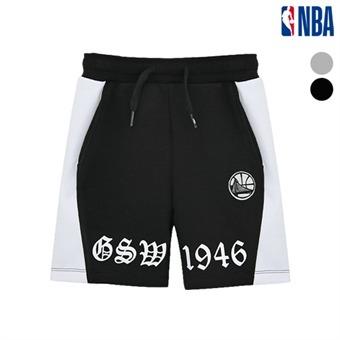 [NBA KIDS] 골든스테이트 워리어스 레터링 테크팬츠 (K192TP201P)