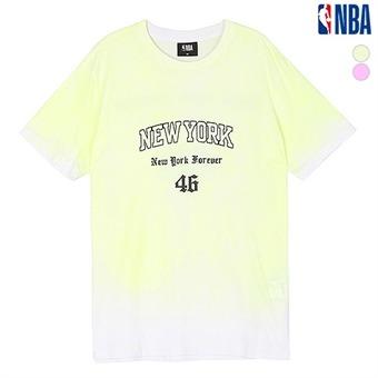 여성 뉴욕닉스 옴브레 다잉 티셔츠(N192TS702P)