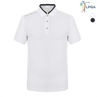 남P 변형요꼬에리 티셔츠(L192TS114P)