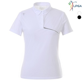 여P 스윙라인 메쉬패치 제에리 티셔츠(L192TS533P)
