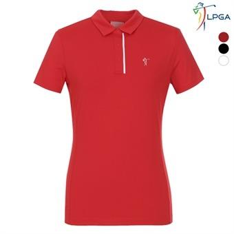 여P 스윙라인 웰딩 포인트 제에리 티셔츠(L192TS518P)