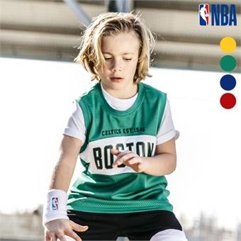[NBA KIDS] NBA팀명 메쉬 롱 슬리브리스 (K192TO610P)