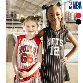 [NBA KIDS] NBA팀 넘버링 치어리더 원피스 (K192TO621P)