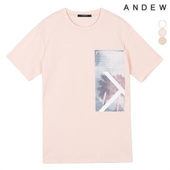 남성 아트웍 티셔츠(O192Z2002P)