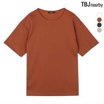 남성 분또 무지 티셔츠(T192TS190P)