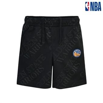 [NBA KIDS] 골든스테이트 워리어스 전판프린트 숏 팬츠 (K192TP315P)