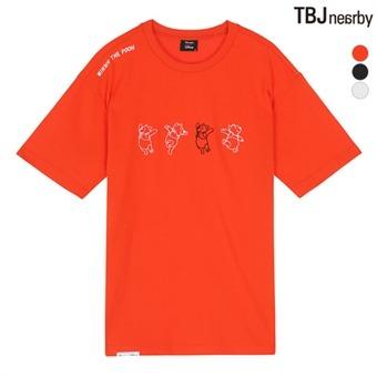 유니 POOH 티셔츠 - 1(T192TS010P)