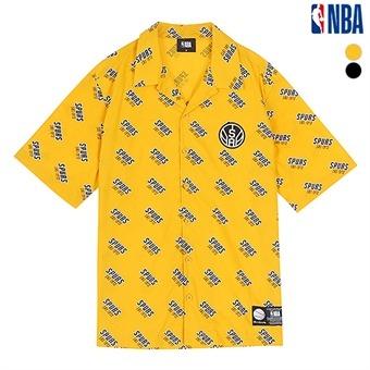 남성 샌안토니오 스퍼스 전판 레터링 셔츠 (N192SH334P)