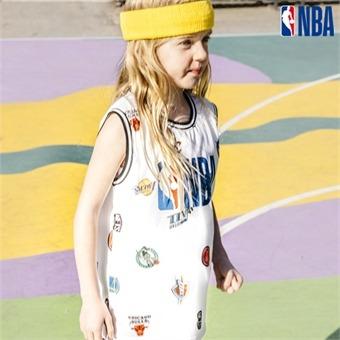 [NBA KIDS] NBA 올스타 로고 슬리브리스[SET-UP] (K192TS255P)