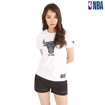 유니 NBA팀 3M홀로그램 고주파 티셔츠(N192TS060P)