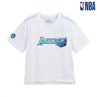 [NBA KIDS] LA레이커스 비치포켓 티셔츠 (K192TS210P)