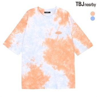여성 AD 물나염 티셔츠(T192TS604P)