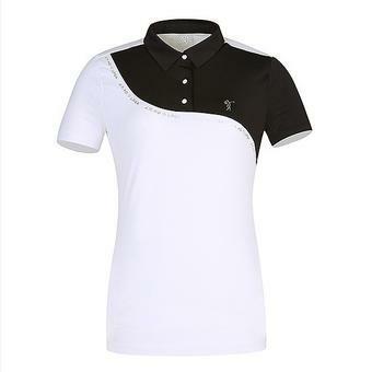 여C 고진영 콜라보 컬러배색 제에리 티셔츠(L192TS541P)