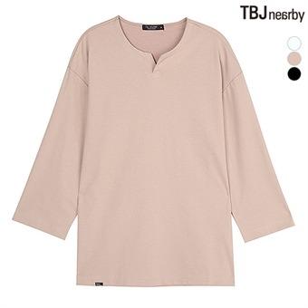 남성 분또 7부소매 티셔츠(T193TS050P)