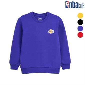 [NBA KIDS] NBA팀 스몰 로고 맨투맨 (K193TS922P)