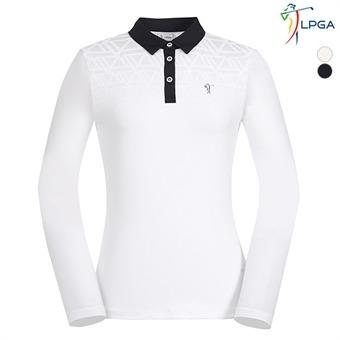 여E) 패턴그라데이션 냉감소매 제에리 티셔츠 (L193TL501P)