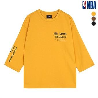 유니 LA레이커스 절개 포인트 티셔츠(N193TS031P)