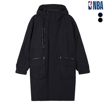 유니 NBA 테크포켓 롱 야상점퍼 (N193JP181P)