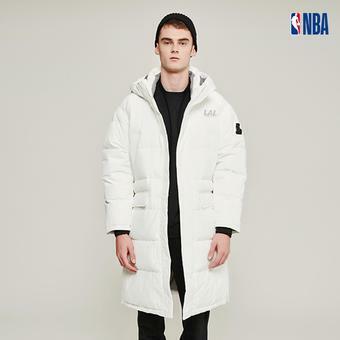 유니 NBA팀로고 구스 롱 다운  (N194DW010P)