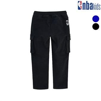[NBA KIDS] NBA 에센셜 코튼 우븐 팬츠(얇은기모) (K194PT101P)