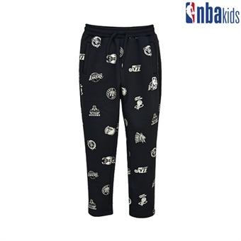 [NBA KIDS] NBA 골드 로고 전판 트랙 팬츠(기모) (K194TP140P)