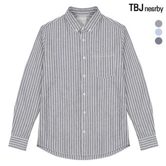 남성 옥스포드 패턴 셔츠(T195SH011P)