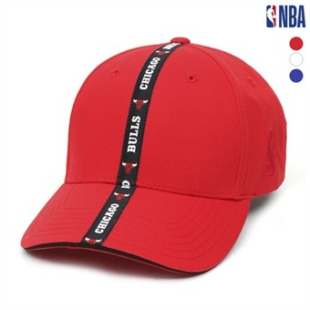 NBA팀로고 테이프 볼캡 (N195AP412P)