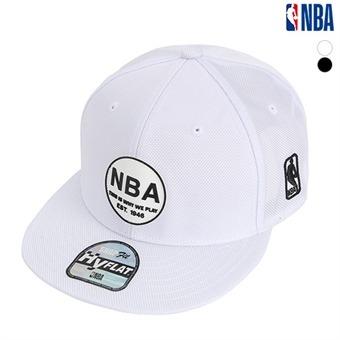 NBA 원형 실리콘 와펜 스냅백 (N195AP616P)