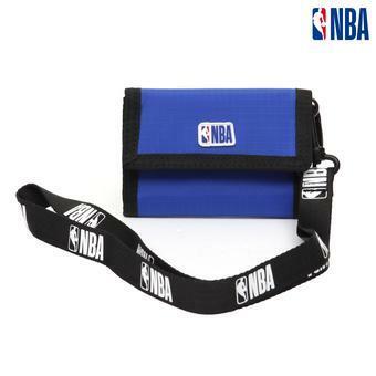 NBA 로고테이프 휘슬 목걸이 3단 카드지갑 (K195AW012P)