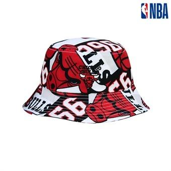 [NBA KIDS] 시카고불스 모자이크 버킷햇 (K195AP153P)