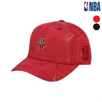 [NBA KIDS] 휴스턴 로케츠 패턴원단 사틴 볼캡 (K195AP431P)