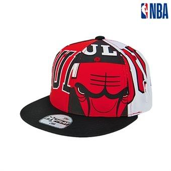[NBA KIDS] 시카고불스 모자이크 프린트 스냅백 (K195AP617P)