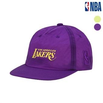 [NBA KIDS] LA레이커스 나일론 프린트 변형 캠프캡 (K195AP901P)